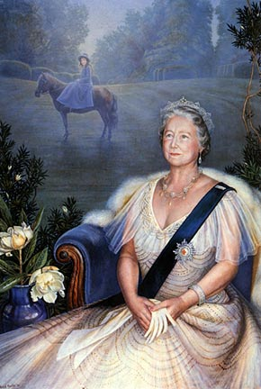 Portrait of Queen Mother